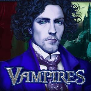 Vampires logo achtergrond