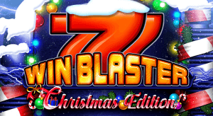 Win Blaster Christmas Edition logo achtergrond