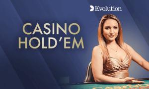 Casino Hold'em logo achtergrond
