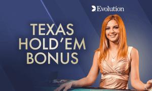 Texas Hold 'em Bonus Poker logo achtergrond