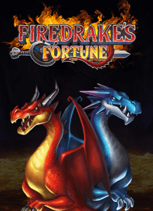 Firedrake's Fortune logo achtergrond