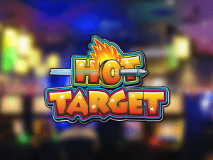 Hot Target Arcade side logo review