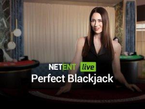 Perfect Blackjack logo achtergrond