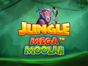 Jungle Mega Moolah logo achtergrond