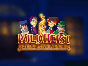 Wild Heist at Peacock Manor logo review