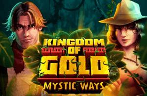 Kingdom Of Gold Mystic Ways logo achtergrond