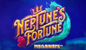 Neptune's Fortune Megaways logo achtergrond