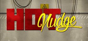 Hot Nudge logo achtergrond
