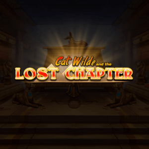 Cat Wilde and the Lost Chapter logo achtergrond