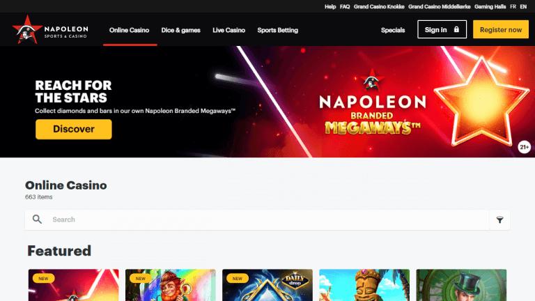 Napoleon Games Screenshot 1