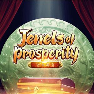 Jewels Of Prosperity logo achtergrond