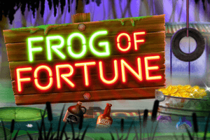Frog of Fortune logo achtergrond