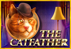 The Catfather logo achtergrond