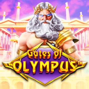 Gates Of Olympus logo achtergrond