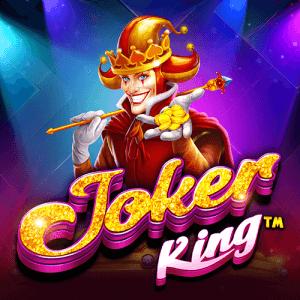 Joker King logo achtergrond