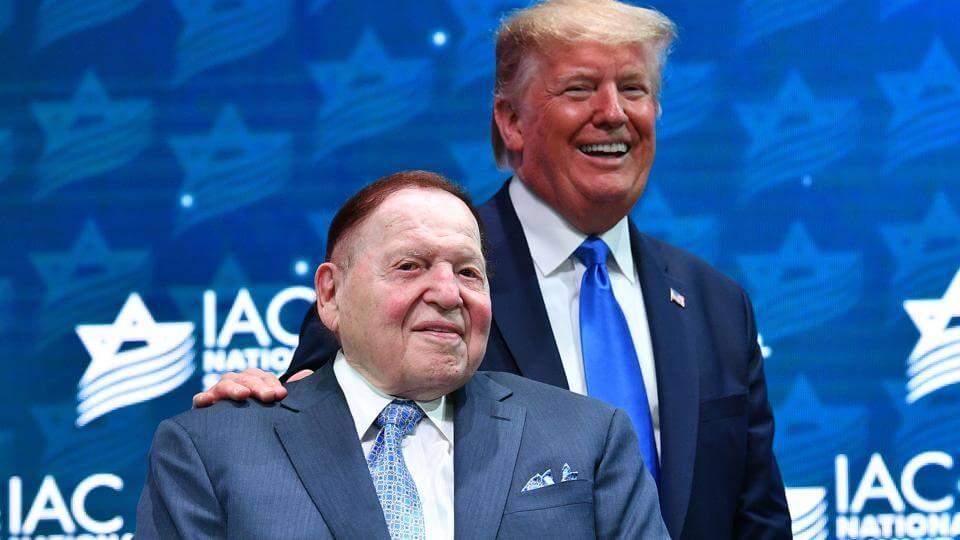 Adelson CS Trump