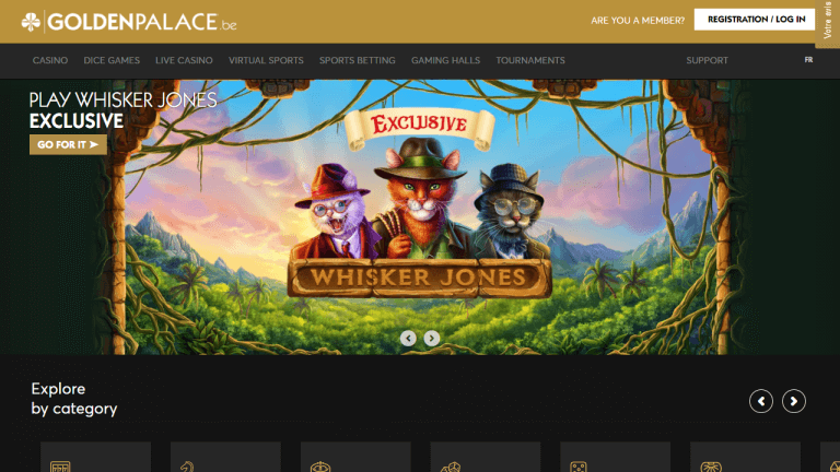 Golden Palace Casino Screenshot 1