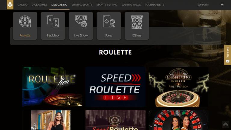 Golden Palace Casino Screenshot 3