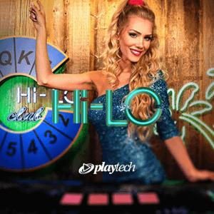Live Hi-Lo logo achtergrond