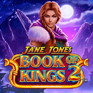 Jane Jones Book Of Kings 2 logo achtergrond