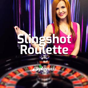 Slingshot Roulette Live logo achtergrond