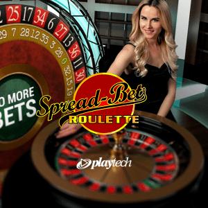 Spread Bet Roulette logo achtergrond