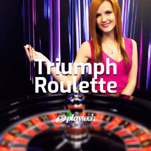 Triumph Roulette logo achtergrond