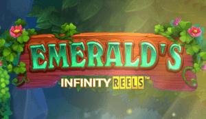 Emerald's Infinity Reels logo achtergrond