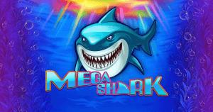Mega Shark logo achtergrond