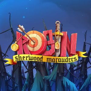 Robin Sherwood Marauders logo achtergrond