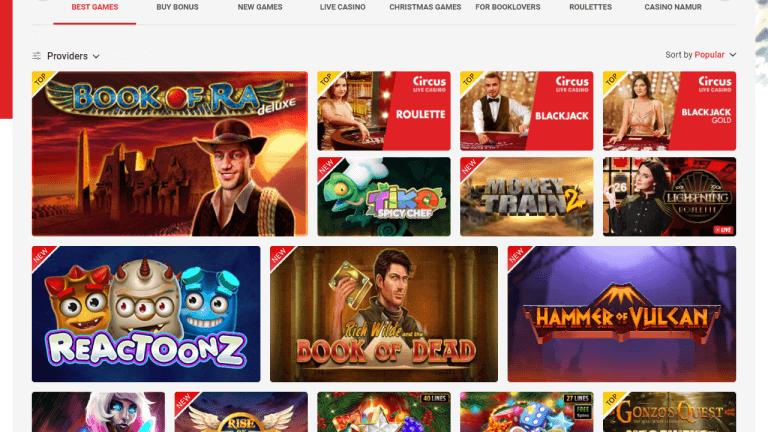 Circus Casino Screenshot 2