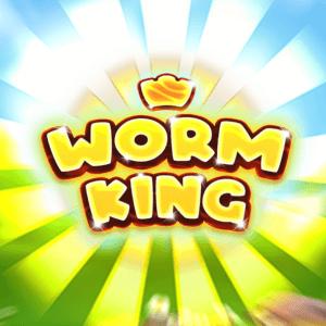 Worm King logo achtergrond