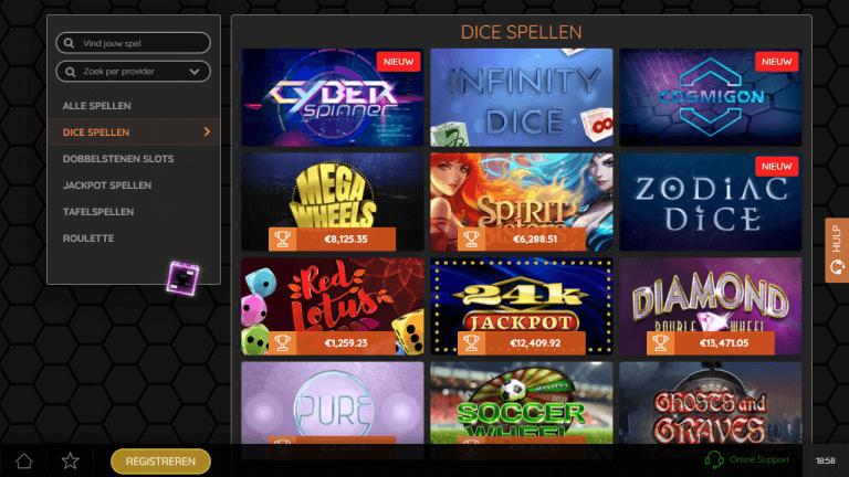SuperGame Casino Screenshot 2