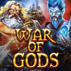 War Of Gods logo achtergrond