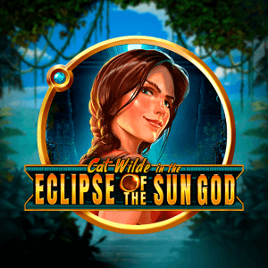 Cat Wilde in the Eclipse of the Sun God logo achtergrond