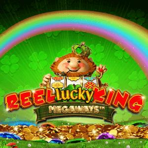 Reel Lucky King Megaways logo achtergrond