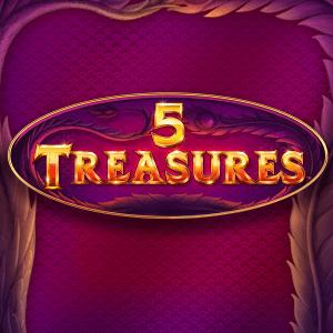 5 Treasures logo achtergrond