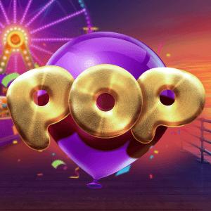 Pop logo achtergrond