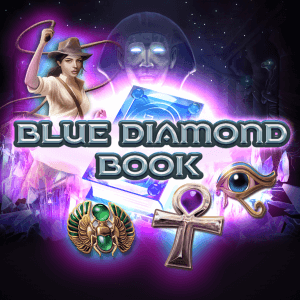 Blue Diamond Book logo achtergrond