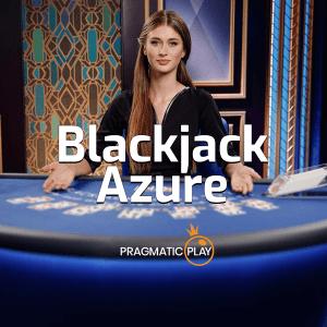Blackjack Azure logo achtergrond