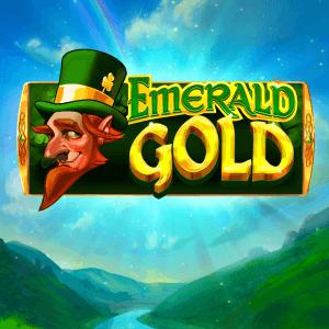 Emerald Gold logo achtergrond