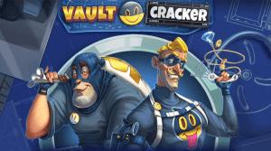 Vault Cracker logo achtergrond
