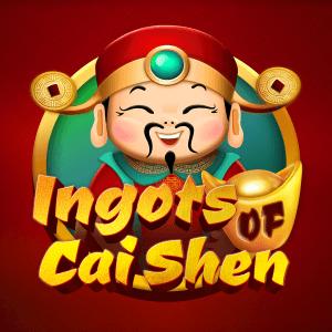 Ingots of Cai Shen logo achtergrond