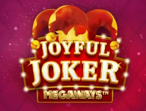 Joyful Joker Megaways logo achtergrond