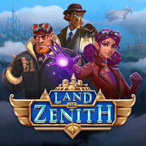 Land Of Zenith logo achtergrond