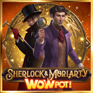Sherlock & Moriarty Wowpot! logo review