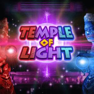 Temple of Light logo achtergrond