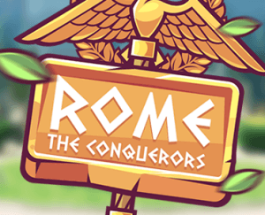 Rome The Conquerors logo achtergrond