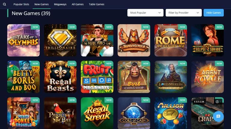 Rush Casino Screenshot 2