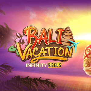Bali Vacation Infinity Reels logo achtergrond